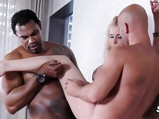 dirty slut and 2 cocks mature blonde xxxvideo