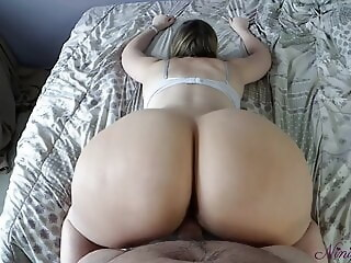 We are bored in France during the curfew so he fucks my ass! pov blowjob xxxvideo