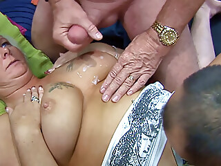 Playing with Hanna from the Council estate cumshot blowjob xxxvideo