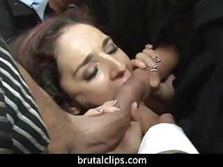 Gangbang with Sheena Ryder fingering blowjob xxxvideo