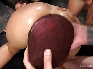 Gangbang fisting double penetration bdsm xxxvideo