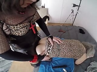 Shemale fucking granny latex (shemale) guy fucks shemale (shemale) xxxvideo