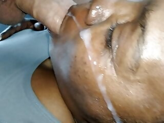 (Facial) SHE GETS BLASTED!! facial cumshot xxxvideo