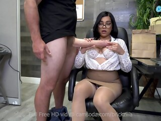 Busty Pornstar Tugs Monstrous Fake Cock For Cum big tits big cock xxxvideo