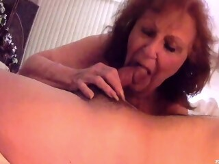 Horny Granny With Lovely Boobs Rides Young Cock big ass bbw xxxvideo