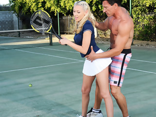 Katie Summers & Marco Banderas in Naughty Athletics big ass blond xxxvideo