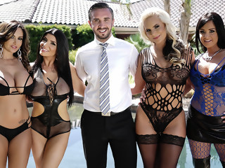 Brazzers House Sex Challenge brunette group sex xxxvideo