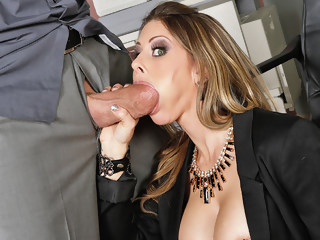 Rachel Roxxx & Billy Glide in Naughty Office brunette facial xxxvideo